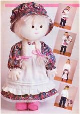Rag Doll and Detachable Clothes Sewing Pattern S10023 (NOT FINISHED ITEMS)