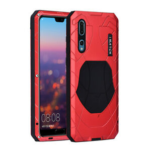 iMatch Metal Bumper Silicone Outdoor Case Cover f Huawei P40 Pro Mate 10 Pro P30