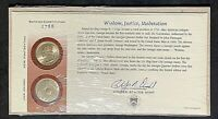 1999 Georgia First Day Cover P & D Mint State Quarters 2 Uncirculated Coins