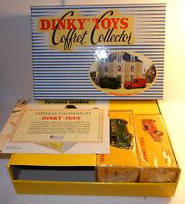 COFFRET DINKY TOYS ATLAS SERVICES PUBLICS PEUGEOT D3A POSTE CITROEN 2CV POMPIERS