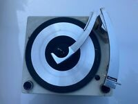 Vintage 1962 Voice of Music 1245 Turntable GE RP1590C Portable Tube Phonograph
