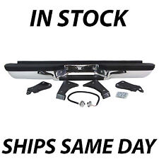 NEW- Complete Rear Bumper for 1988-2000 Chevy Silverado GMC Sierra C/K 1500 2500