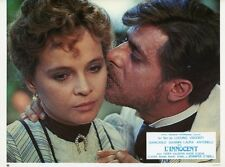 LAURA ANTONELLI GIANCARLO GIANNINI L'INNOCENTE VISCONTI  1976 LOBBY CARD #3