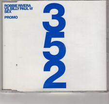 (GR253) Robbie Rivera vs Billy Paul W, Sex - 2002 DJ CD