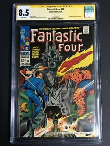 Fantastic Four #80 1st Tomazooma 8th Highest SS Stan Lee! ! CGC 8.0 1144806025