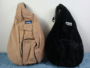 KAVU Sling Travel Backpack~Choose Rope Cord or Rope Fuzz~NWT!!!