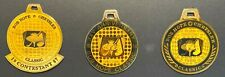 Bob Hope Classic golf - 3 contestant metal bagtags - mint condition