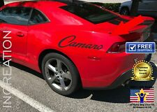 USA Flag Patriotic Bowtie Chevy Chevrolet Camaro Car Window Decal Die Cut US021