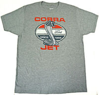 FORD MUSTANG T-shirt COBRA JET Classic American Muscle Car Tee Men's New