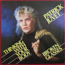 """PATRICK JUVET - MAXI VINYL (12"""") """"THINKING WITH YOUR BODY"""""""