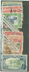 Mozambique Company #175-179, #181-190 used lot, animals