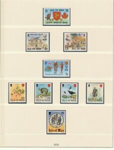 D208851 Isle of Man 1978 Nice selection of MNH stamps