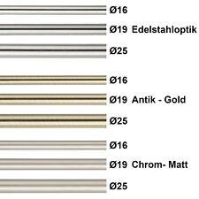 gardinenstangen in messing optik 16 mm
