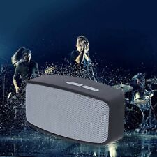 Portable Small Bluetooth Wireless Stereo FM Speaker For Smartphone Tablet Laptop