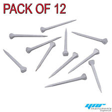 YNR HORSESHOE NAILS NEW STEEL 12 Pack for STAINED GLASS COPPER FOILING & CRAFTS