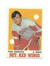 1970-71 OPC:#155 Tom Webster,Red Wings RC