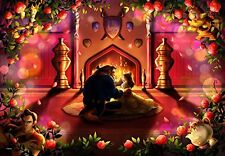 Disney Beauty and the Beast Pure White Jigsaw Puzzle Beginning of Love 500pcs