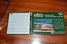 N scale KATO EMPTY box case for Milwaukee Road 9 car passenger set