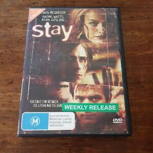 Stay DVD R4 VERY GOOD EXRENTAL