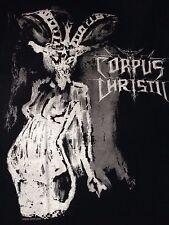 Corpus Christii Black Metal Baphobitch T-Shirt Luciferian Frequencies Rising