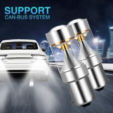 Ambother 2 X 1156 BA15S XBD LED coche Cola Indicador Lámpara Blanco DC 12 V inversa