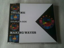 SONIC SURFERS - TELL ME / MAKING WAVES - OLD SKOOL DANCE CD SINGLE
