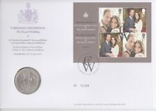 Numisbrief Großbritannien   The Royal Wedding  William + Cate    5 Pfund   2011