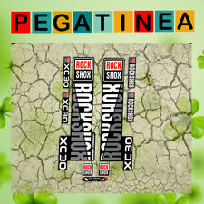 PEGATINAS HORQUILLA ROCK SHOX XC30 EP01 STICKERS AUFKLEBER DECALS  FORK MTB