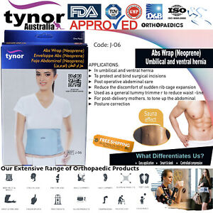 Tynor™ Abs Wrap (Neoprene) Umbilical Hernia Post Delivery Aid Unisex Fat Burning