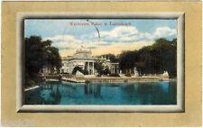 ca 1911 postcard WARSZAWA Palac w Łazienkach (Warsaw --> Vladimir Region)
