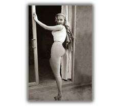 "Pinup Girl 1950's Betty Brosmer ww2 Photo Glossy ""4 x 6"" inch A"