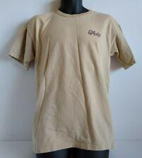 Gramicci Fish Bone Skate T Shirt Beige Size M