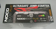 NOCO Boost Plus GB40 12-Volt Lithium Jump Starter NEW SEALED