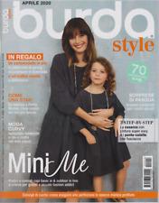 Rivista Burda Style Italiano n 4 Aprile 2020 Mini Me
