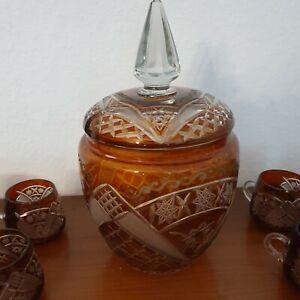 Römer Bowle Set  Kristallglas 12 Gläser , 1 Bowle Topf