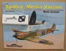 Spitfire, Merlin Variant - Walk Around - Squadron/Signal
