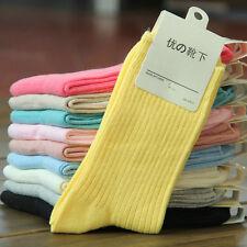 5 Pairs Women's Stripe  Soft & Comfortable & Warm Thick cotton Socks Size 5-9