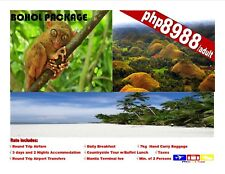 Bohol Package with Countryside Tour and Airfare