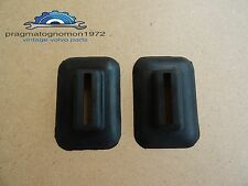 VOLVO P 1800  BUMPER SUPPORT GROMMETS  RUBBER SEALS NEW!!