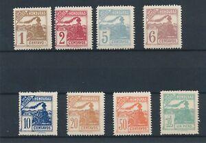 [31337] Honduras 1898 Trains Good set VF MNH/Mint no gum stamps