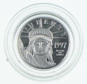 1997-W $10 1/10 Oz. Platinum Eagle - U.S. Platinum Coin *021
