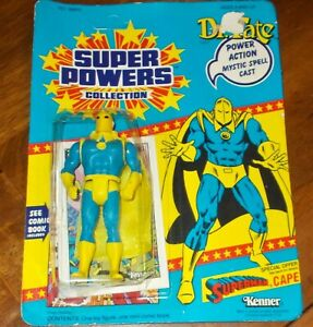 Dr. Fate Action Figure Sealed  Unpunched  1985 Kenner DC Super Powers Collection