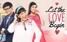 Let the Love Begin Complete Set Filipino TV Series DVD Pinoy teleserye