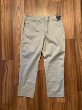 New York and Company Capri Pants Size 2 Lt Blue NWT Great Deal To Buy Now