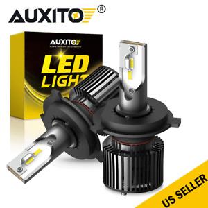 H4 HB2 9003 LED Headlight Kit 6000W 16000LM Hi/Lo Beam High Power Bulb AUXITO