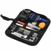 146PCS Professionnel Montre Outil de Reparation Kit Horloger Case Opener Li M2C3
