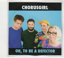 (HD497) Chorusgirl, Oh, To Be A Defector - 2015 DJ CD
