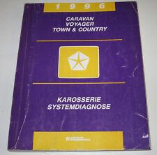 Werkstatthandbuch Chrysler Caravan Voayager Town Country Karosserie Stand 1995!