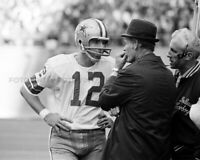 ROGER STAUBACH TOM LANDRY Photo Picture DALLAS COWBOYS Football 8x10 11x14 RS4