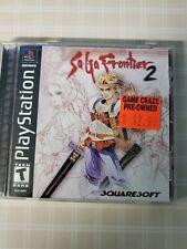 SaGa Frontier 2 (Sony PlayStation 1, 2000)CIB NEAR MINT DISC